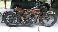 1925 Harley Davidson