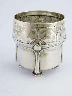 Archibald Knox SILVER BEAKER Cup, Birmingham 1902 Liberty Co. CYMRIC Arts Crafts #LibertyCo