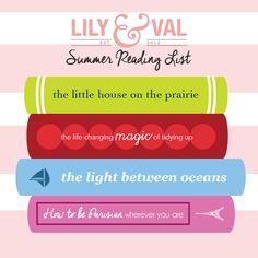 Lily & Val – L&V Summer Reading List