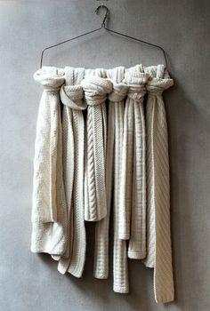 #scarves #merchandising #hanger