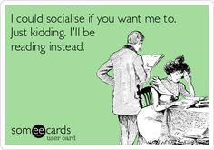 I could socialise... - Writers Write Creative Blog