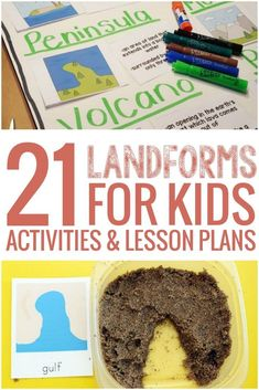 Plenty of interactive ideas and activities to teach landforms for kids. Find videos, worksheets and even experiments to help.