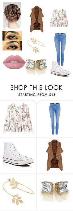 """""""Sin título #98"""" by evelyn-mendoza-1 on Polyvore featuring moda, Rebecca Taylor, Paige Denim, Converse, Dorothy Perkins, Miss Selfridge y Lime Crime"""