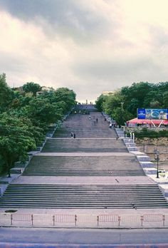 Potemkin Stairs - Odessa, Ukraine
