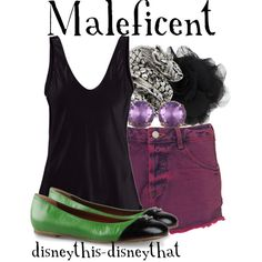 @To complete: purple shorts, green flats@