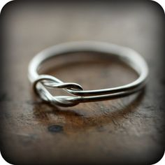 Sailor knot ring  recycled sterling silver ring by LeCubicule, $33.00