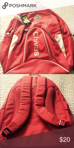 Chivas  ( Mexican soccer team) backpack Brand new chivas backpack Bags
