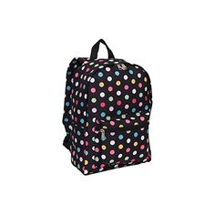 Everest 15″ Backpacks – Polka Dot – 30 ct.  http://www.alltravelbag.com/everest-15-backpacks-polka-dot-30-ct/