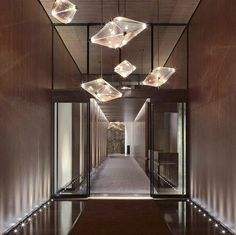 Maxhedron Horizontal - 48 inch (Oil-rubbed bronze/Transparent mirror) (5) - One Madison Park, New York. Interior by Yabu Pushelburg. Designed by Bec Brittain for Roll & Hill