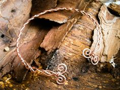 Celtic torc necklace , copper necklace, torc necklace , viking torc, norse,  dacian necklace, spirals, skyrim , medieval, rennaisance choker