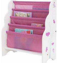 Worlds Apart butterflies and flowers sling bookcase A brilliantly simple idea. You?ve seen them at playgroup, now you can have your very own sling bookcase. (Barcode EAN=5013138627648) http://www.comparestoreprices.co.uk/book-cases/worlds-apart-butterflies-and-flowers-sling-bookcase.asp