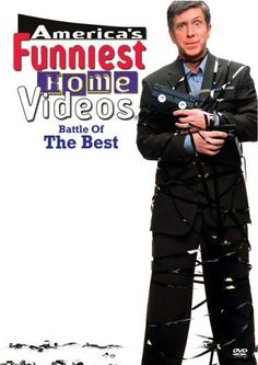 AMERICA'S FUNNIEST HOME VIDEOS: With Tom Bergeron, Jess Harnell, Bob Saget, Ernie Anderson. Viewers from around America send in funny moments captured (or staged) by their own video cameras. Results are often painful to watch. First aired 1989.