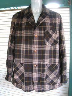 Vintage 1950s  Pendleton Wool Jackets