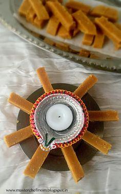MASTERCHEFMOM: Mysore Pak | Gram Flour Fudge |  How to make Mysor...