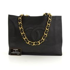 fffcc109ac54 Chanel Tote Shopping Tote Xl Jumbo Tote Xl Cc Logo Shoulder Bag Chanel  Tote, Chanel