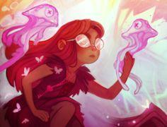 Spirits, Unseen and Hidden World, Colour, Ava's Demon, Inspiration
