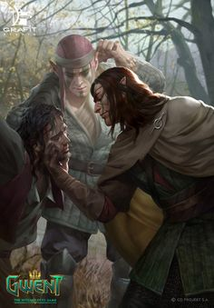 View an image titled 'Isengrim Art' in our Gwent: The Witcher Card Game art gallery featuring official character designs, concept art, and promo pictures. The Witcher, Witcher Art, Fantasy Inspiration, Character Inspiration, Character Art, Character Design, Dungeons And Dragons, Scoia Tael, Rpg Pathfinder