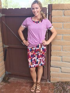 Ever layer a lularoe julia dress with a classic tee? You must try it!!  Come shop my group for the latest styles and trends!  https://www.facebook.com/groups/LuLaRoeTrishaAdcock/