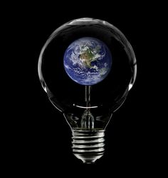 mother earth---in a bulb