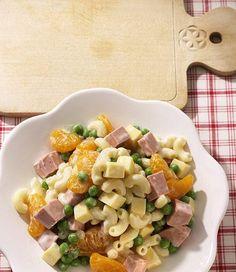 Tims Nudelsalat - New Site Fruit Recipes, Quick Recipes, Quick Easy Meals, Austrian Recipes, Austrian Food, Pasta Noodles, Pasta Salad, Brunch, Food And Drink