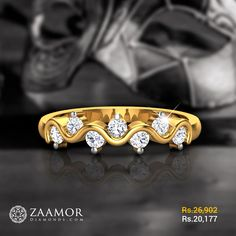 Amanda Diamond Ring