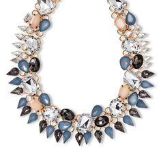"Women's Natasha Accessories Fashion Necklace with Stones - Multicolor (8"")"