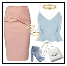Untitled #53 by coconut-r on Polyvore featuring polyvore мода style River Island WtR Charlotte Russe Madewell Jennifer Meyer Jewelry fashion clothing