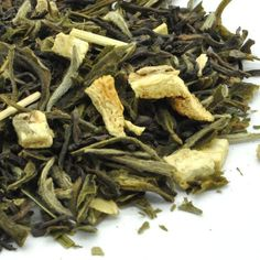 Lemon Ginger Cooler Weight Loss Tea [Dr. Oz inspired]: Crisp, refreshing tea that is great hot, and perfect iced! A Dr. Oz inspired pu-erh / white tea recipe. One of the best teas for weight loss.