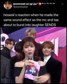 Imagine u r standing next to hobi I bet your reaction is the same 😂😳 Hoseok Bts, Namjoon, Bts Taehyung, Bts Bangtan Boy, Bts Jimin, Bts Jungkook, Bts Memes Hilarious, Bts Funny Videos, Funny Humor