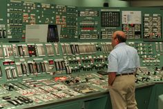 Ken Gramilch, one of the control room operator, monitors instrument panels for the primary nuclear sites of TMI plant. Description from darkroom.baltimoresun.com. I searched for this on bing.com/images