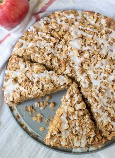 Apple Coffee Cake wi