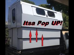 How to build a pop up camper on the back of a truck Living in a camper and DIY camper Ideas Building a pop up camper living in a pop camper and the diy story. Build A Camper, Diy Camper, Camper Ideas, Old Honda Motorcycles, Truck Living, Fishing Poles, Cold Weather Gear, Living On The Road, Hunting Gear