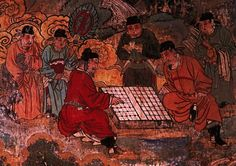 Yuan dynasty mural at the Lower Guangsheng Temple