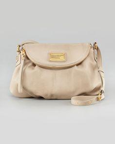 ed4a2083788545 MARC by Marc Jacobs Classic Q Natasha Shoulder Bag in Creme or Mink Mink,  Neiman