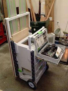 Festool Systainer MFT & cart