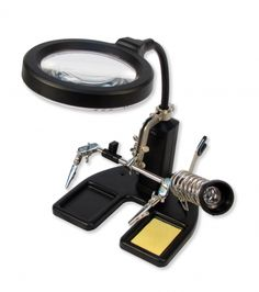 Soldering Station Magnifier-ScientificsOnline.com