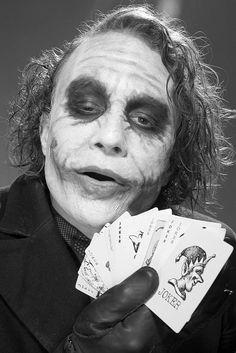 The Joker (Heath Ledger) in Batman - The Dark Knight