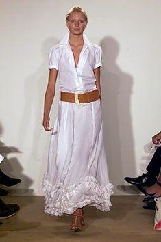 Ralph Lauren Spring 2002 Ready-to-Wear Fashion Show - Yfke Sturm, Ralph Lauren