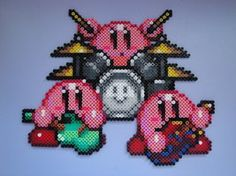 Kirby Band Hama Sprite por rinoaff10