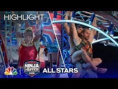 Jessie Graff vs. Grant McCartney: Big Dipper Freestyle - American Ninja Warrior All-Star Special - YouTube Jessie Graff, American Ninja Warrior, Big Dipper, All Star, Challenges, Stars, Youtube, Sterne, Star