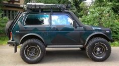 Lada Niva: Lada 4X4, Cars 4X4