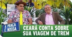 A Praça É Nossa (19/11/15) - Matheus Ceará conta sobre viagem de trem