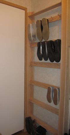 Smart Shoe Storing with 21 DIY Rack Shoe Ideas shoe storage system Diy Rack, Diy Shoe Rack, Wall Shoe Rack, Shoe Wall, Industrial Shoe Rack, Diy Shoe Storage, Shoe Storage In Garage, Diy Shoe Organizer, Shoe Storage Ideas For Small Spaces