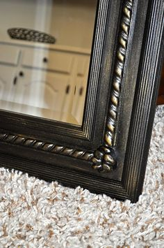 How To Paint An Antique Gold Faux Finish Wood Pictures
