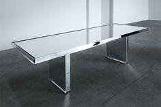 Mirror table by Tokujin Yoshioka for Glasitalia furniture 2