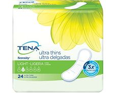 TENA Serenity Active Ultra Thin Incontinence Pads, Long, ...  http://amzn.to/2jL27J3