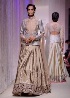 Manish Malhota collecton named Reflection at the lakme Fashion week Winter/Festival 2013 MM 92
