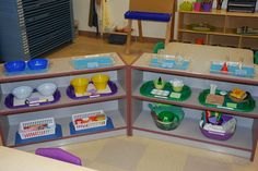 Water Works in the Practical Life area in my classroom