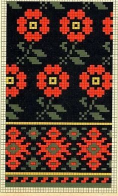 Navajo Pattern, Chart Design, Pattern Design, Bead Crochet Rope, Simple Cross Stitch, Hand Embroidery Stitches, Fair Isle Knitting, Tapestry Crochet, Knitted Bags