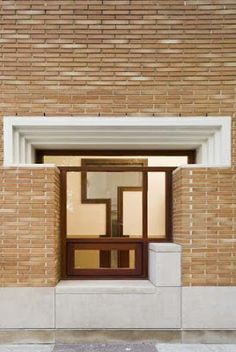 Ideas for Brick Architecture: George Ranalli Architects - Community Centre, Saratoga Avenue, New York, 1999